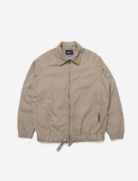 B MOVE JACKET - BEIGE brownbreath