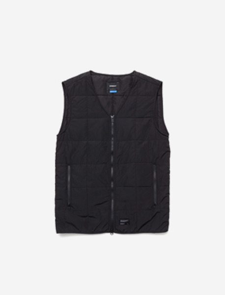 B QUILTING VEST - BLACK brownbreath