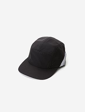 B BLOCK CAMP CAP - BLACK brownbreath