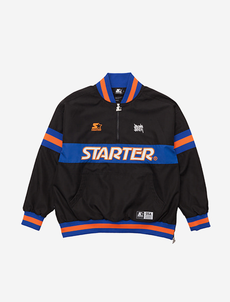 STARTERXBB ANORAK - BLACK brownbreath