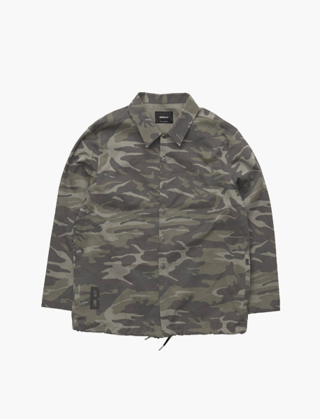 B CAMO SHIRTS JACKET - CAMO brownbreath