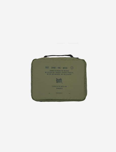 STIN TRAVEL CASE POUCH - KHAKI brownbreath