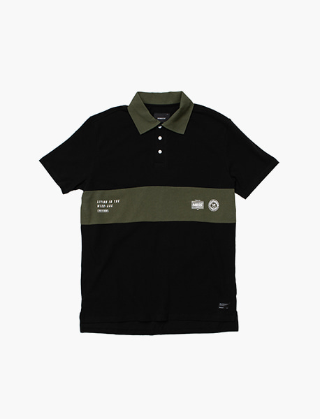 MESS-AGE PK SHIRTS - BLACK brownbreath