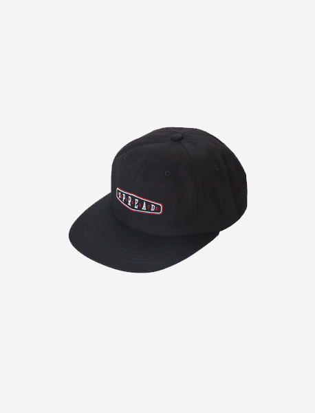 SPREAD 90s CAP - BLACK brownbreath
