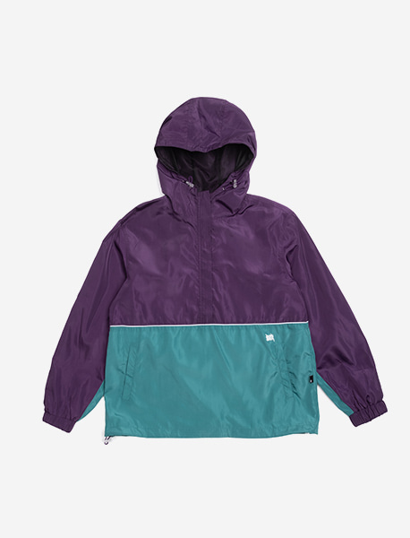 TAG ANORAK - PURPLE brownbreath