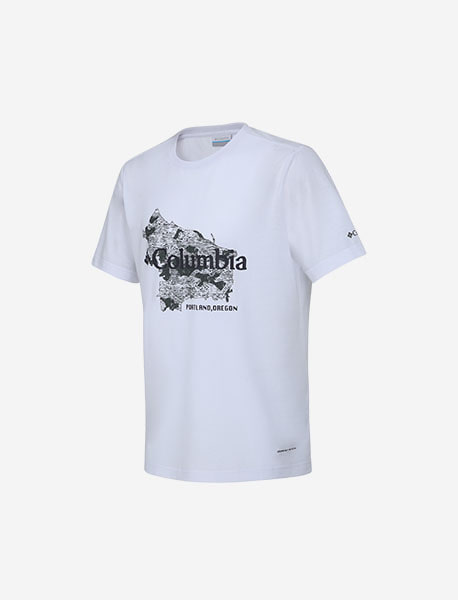 MAP GRAPHIC LOGO T-SHIRTS brownbreath
