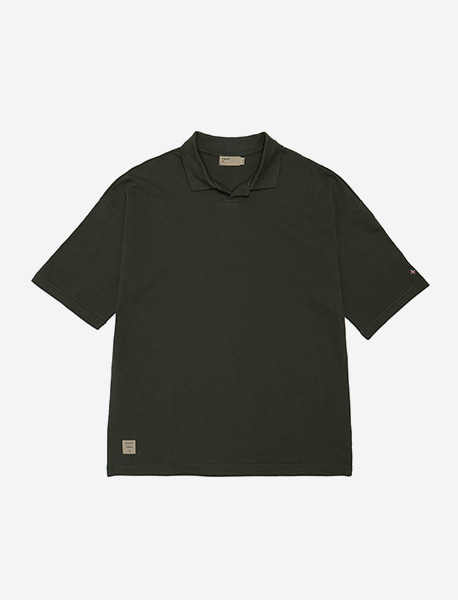 NGRD PIQUE SHIRTS - KHAKI brownbreath