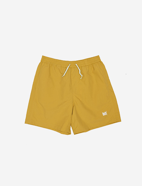 TAG SHORT PANTS - YELLOW brownbreath