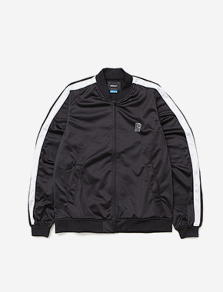 B MOVE JERJEY JACKET - BLACK brownbreath