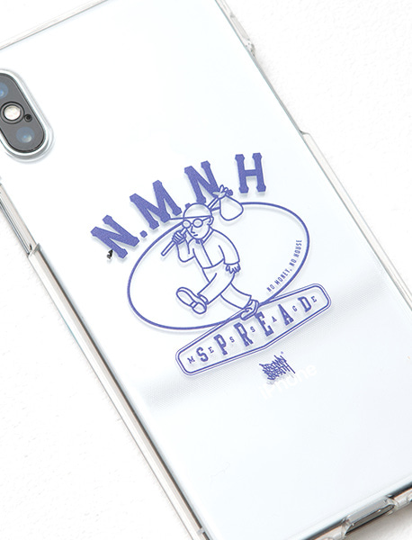 NMNH JELLY PHONECASE - CLEAR brownbreath