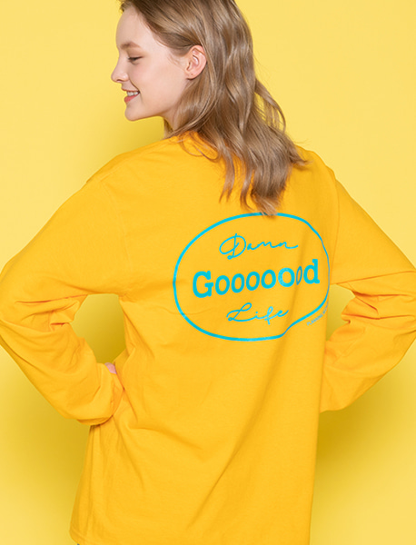 GOOOOOD LONGSLEEVE - GOLD brownbreath