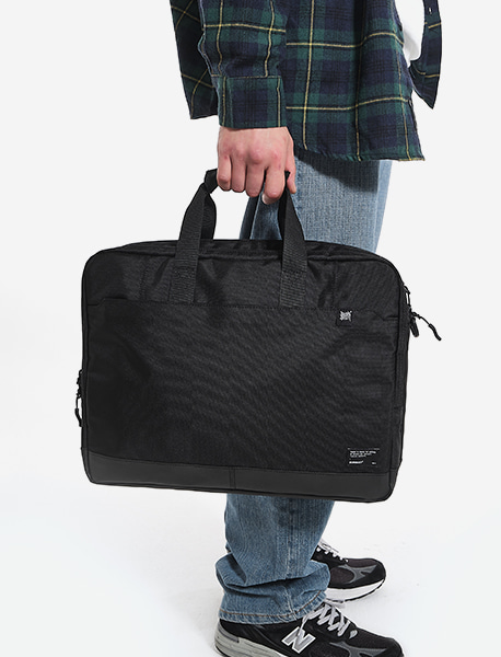 CIVITAS BRIEF CASE - BLACK brownbreath