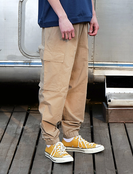 NOGREED JOGGER PANTS - BEIGE brownbreath