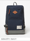 Gravity Backpack - Navy brownbreath